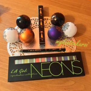 L.A. Girl Neons Collection + tarte eyeliner!